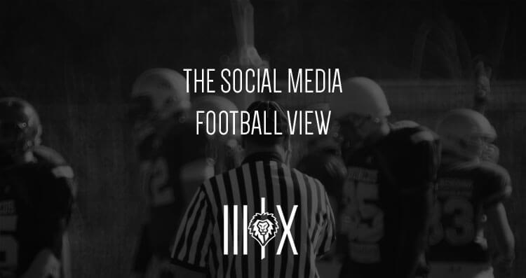 social media football image
