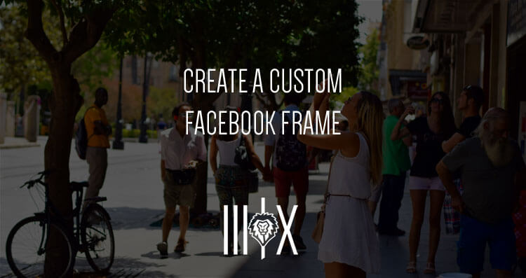 custom facebook frame featured image
