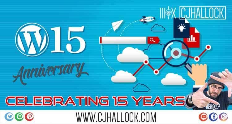 wordpress 15 anniversary