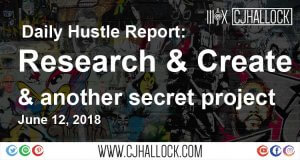 research and create