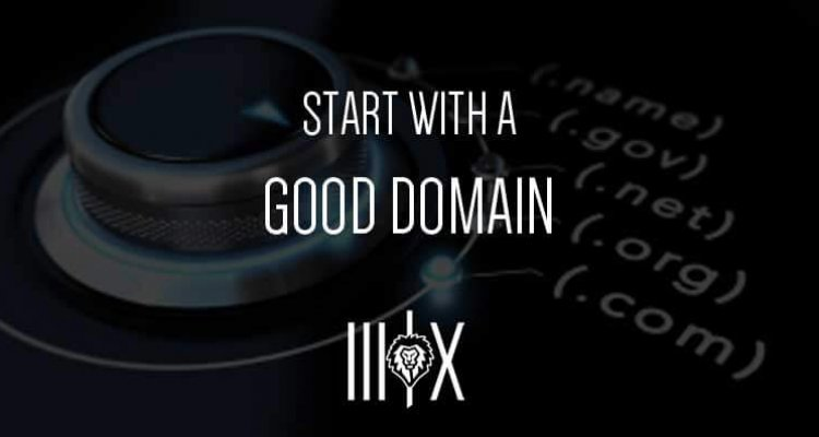 Start-with-a-good-domain