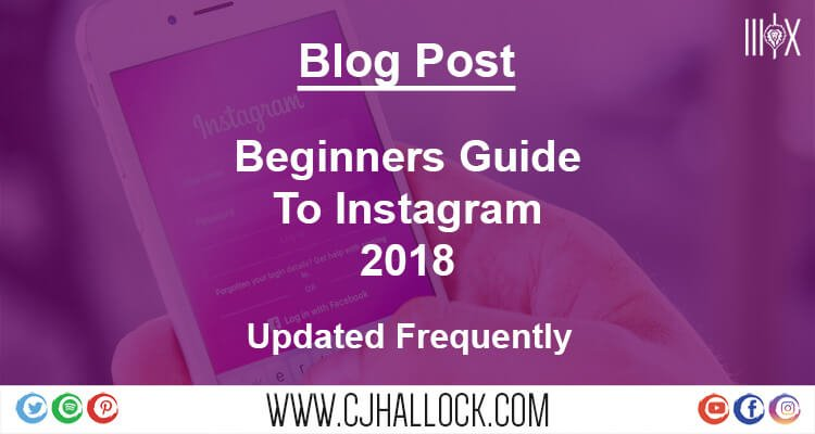 beginners guide to instagram featured image